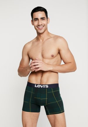 TARTAN BRIEF 2 PACK - Shorty - green/yellow/black