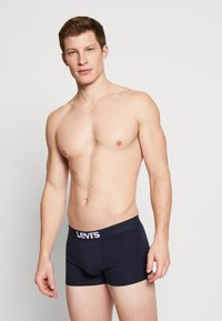 Levi's® - MEN SOLID BASIC TRUNK 2 PACK - Shorty - navy - 1
