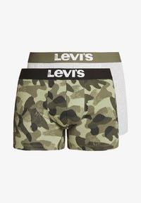 Levi's® - MEN CAMOUFLAGE BOXER BRIEF 2 PACK - Onderbroeken - khaki - 3