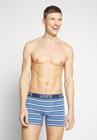 Levi's® - MEN STRIPE BOXER BRIEF 2 PACK - Shorty - riverside blue - 1