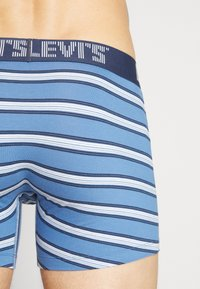 Levi's® - MEN STRIPE BOXER BRIEF 2 PACK - Shorty - riverside blue - 2