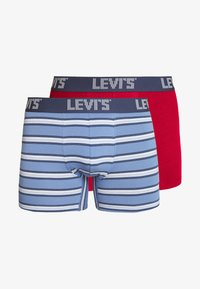 Levi's® - MEN STRIPE BOXER BRIEF 2 PACK - Shorty - riverside blue - 4