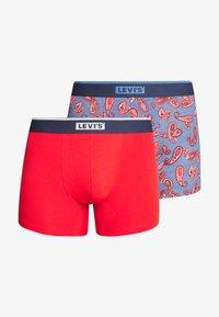 Levi's® - MEN PAISLEY BOXER BRIEF 2 PACK - Culotte - riverside blue - 3
