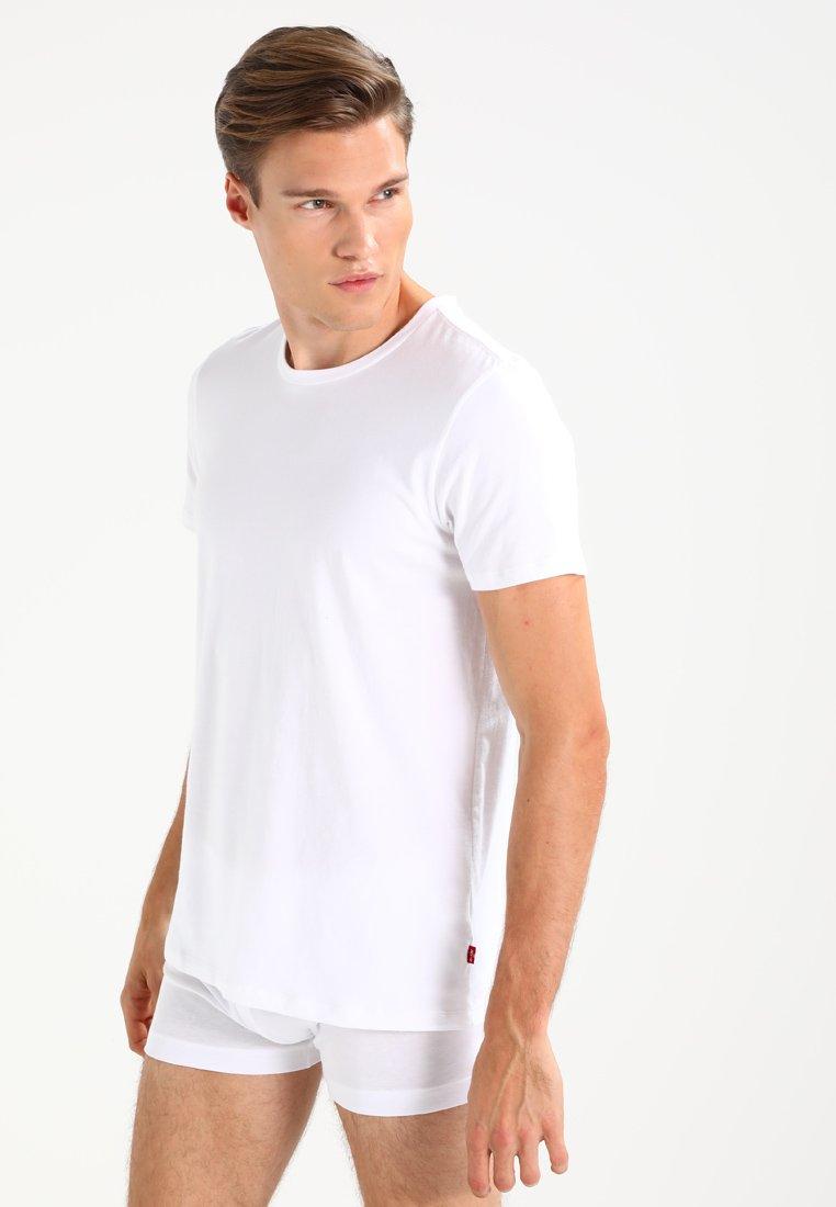 Levi's® - CREW COMFORT FIT 2 PACK - Undertröja - white