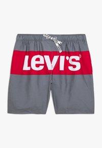 Levi's® - BOX TAB LOGO SWIMWEAR - Plavky - black - 0