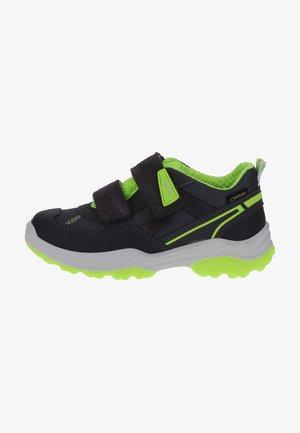 Sneakers basse - grau/neongelb