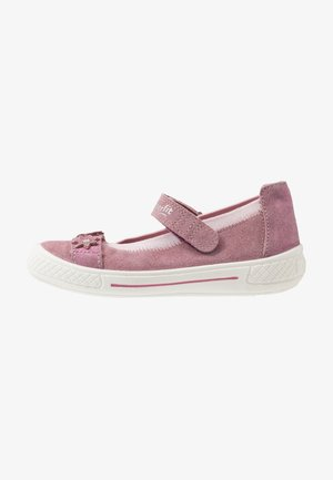 TENSY - Ankle strap ballet pumps - lila