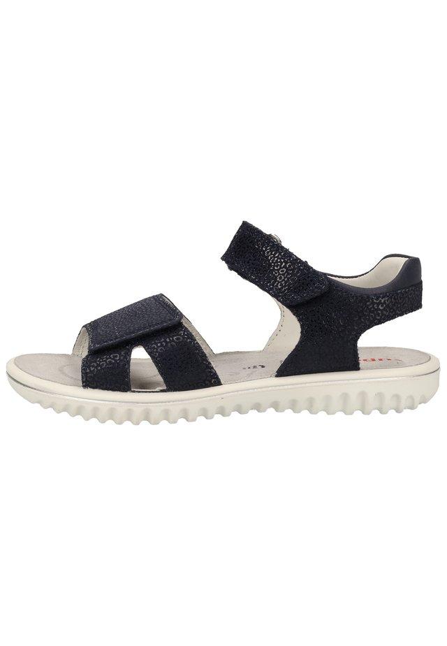 SANDALEN - Sandalen - blau 80