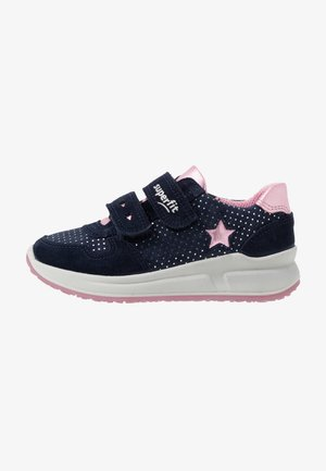 MERIDA - Sneakers basse - blau/rosa