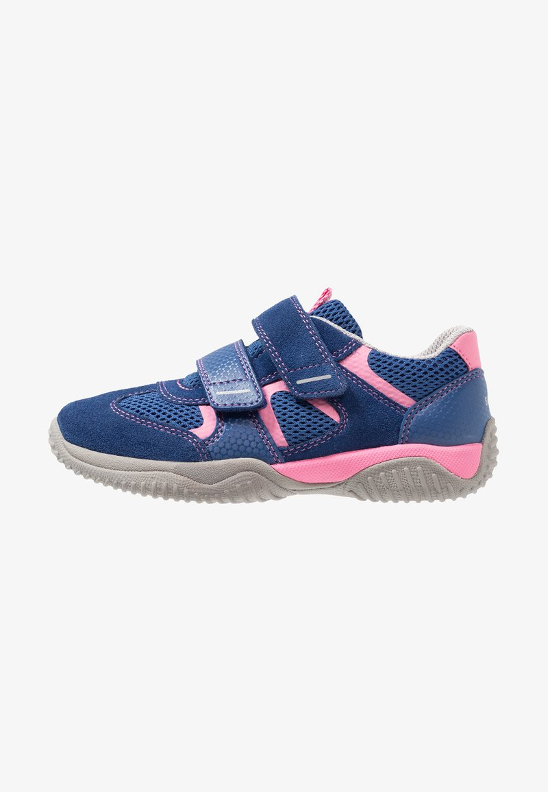 Superfit - STORM - Sneaker low - blau/rosa