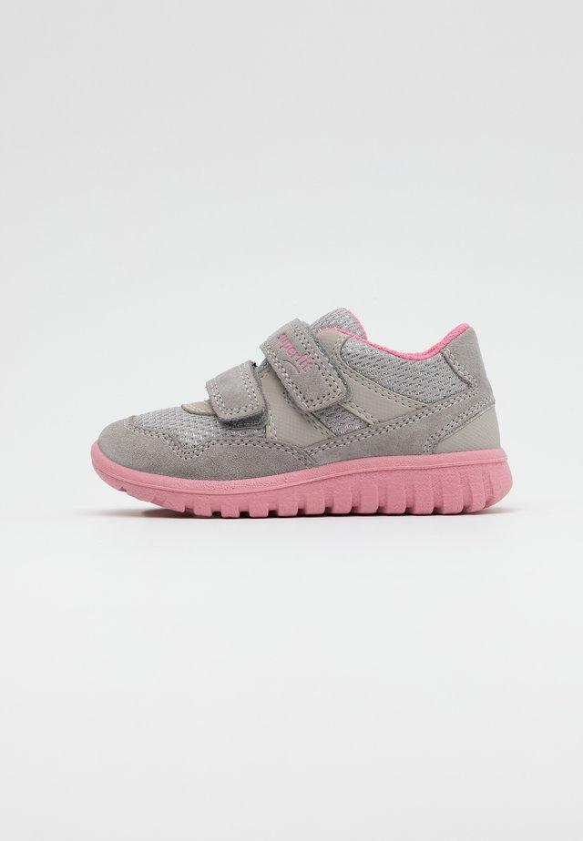 MINI - Sneakers laag - hellgrau/rosa