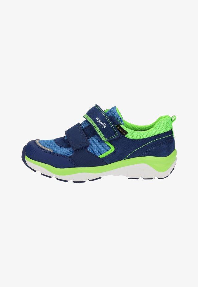 Lær-at-gå-sko - blue/green