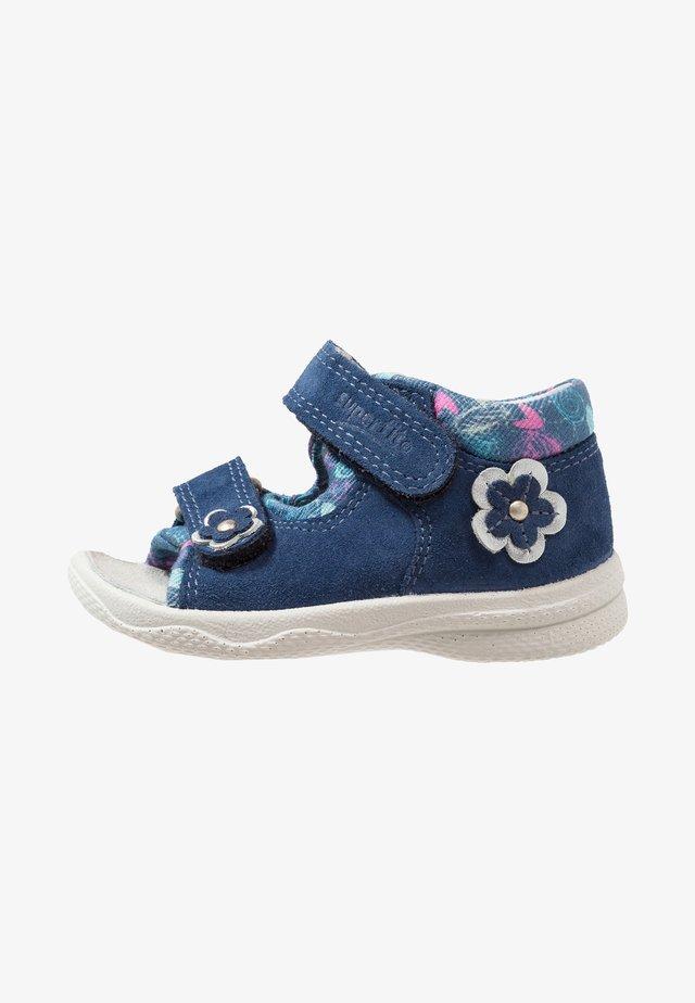 POLLY - Sandals - blau
