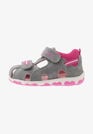 FANNI - Baby shoes - grau
