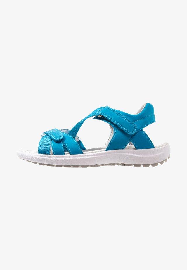 RAINBOW - Sandaalit nilkkaremmillä - blau