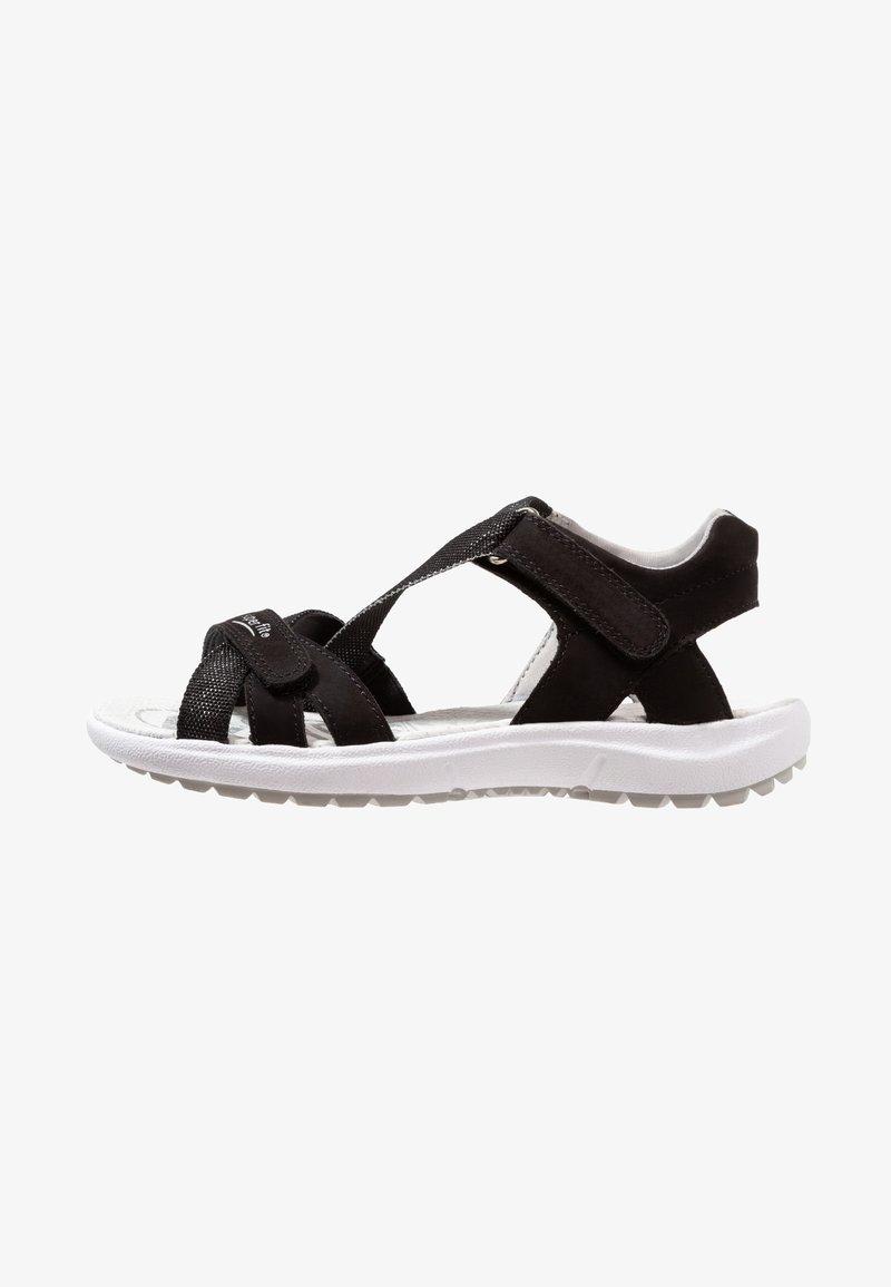 Superfit - RAINBOW - Sandals - schwarz
