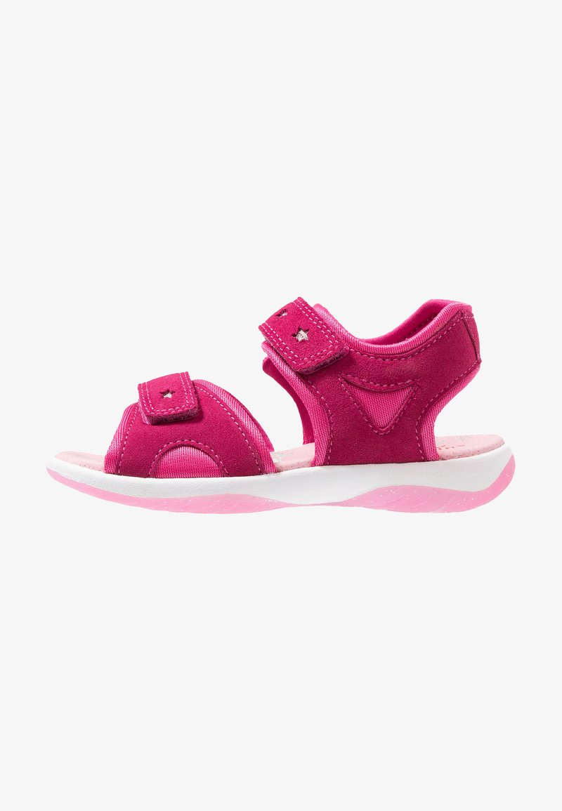 Superfit - SUNNY - Sandales - rot/rosa