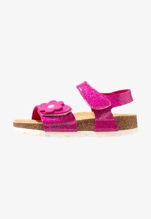 Sandaalit nilkkaremmillä - rosa