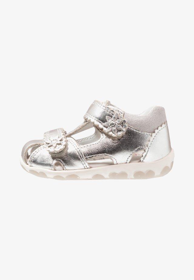 FANNI - Sandals - metallic silver