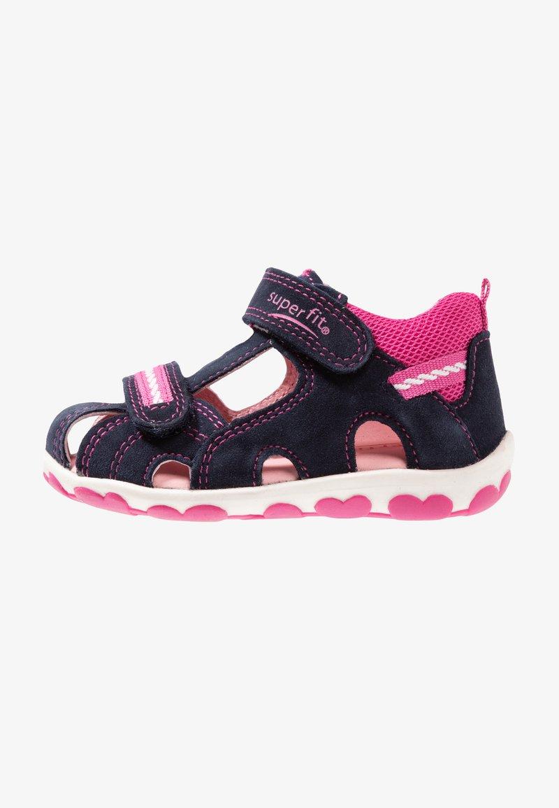 Superfit - FANNI - Sandály - blau/rosa