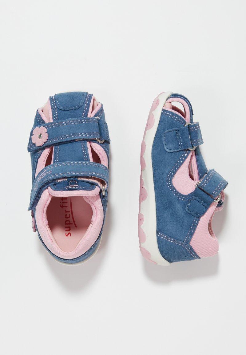 Superfit - FANNI - Dětské boty - blau/rosa