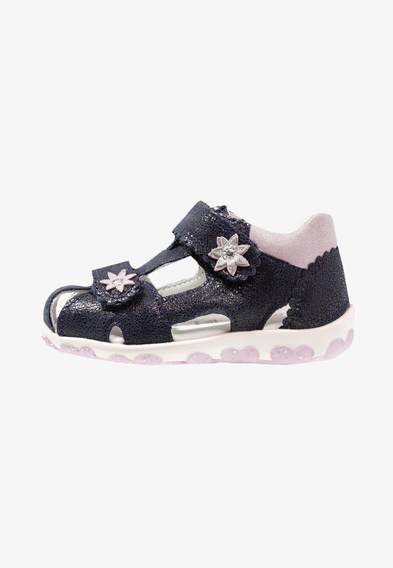 Superfit - FANNI - Sandals - blau/metallic