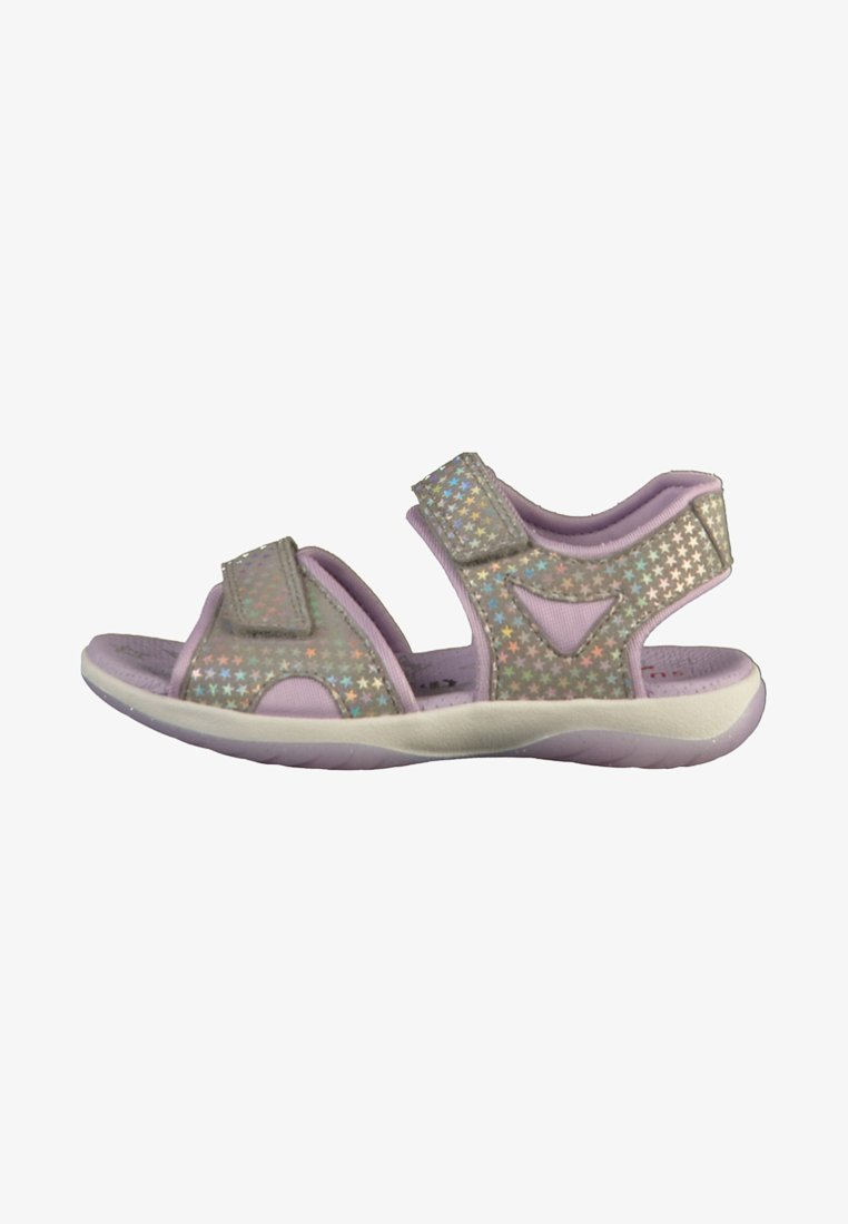 Superfit - SANDALEN - Sandaler - light grey/lila
