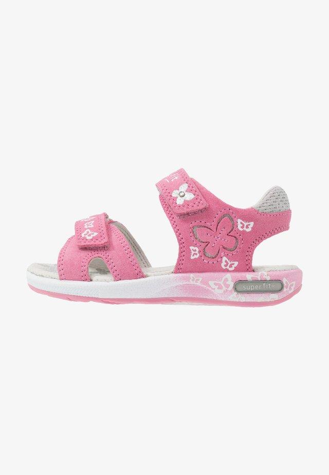 EMILY - Sandaalit nilkkaremmillä - pink