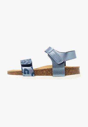 Sandaalit nilkkaremmillä - blau