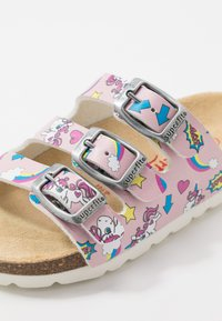 Superfit - FUSSBETTPANTOFFEL - Domácí obuv - pink - 5