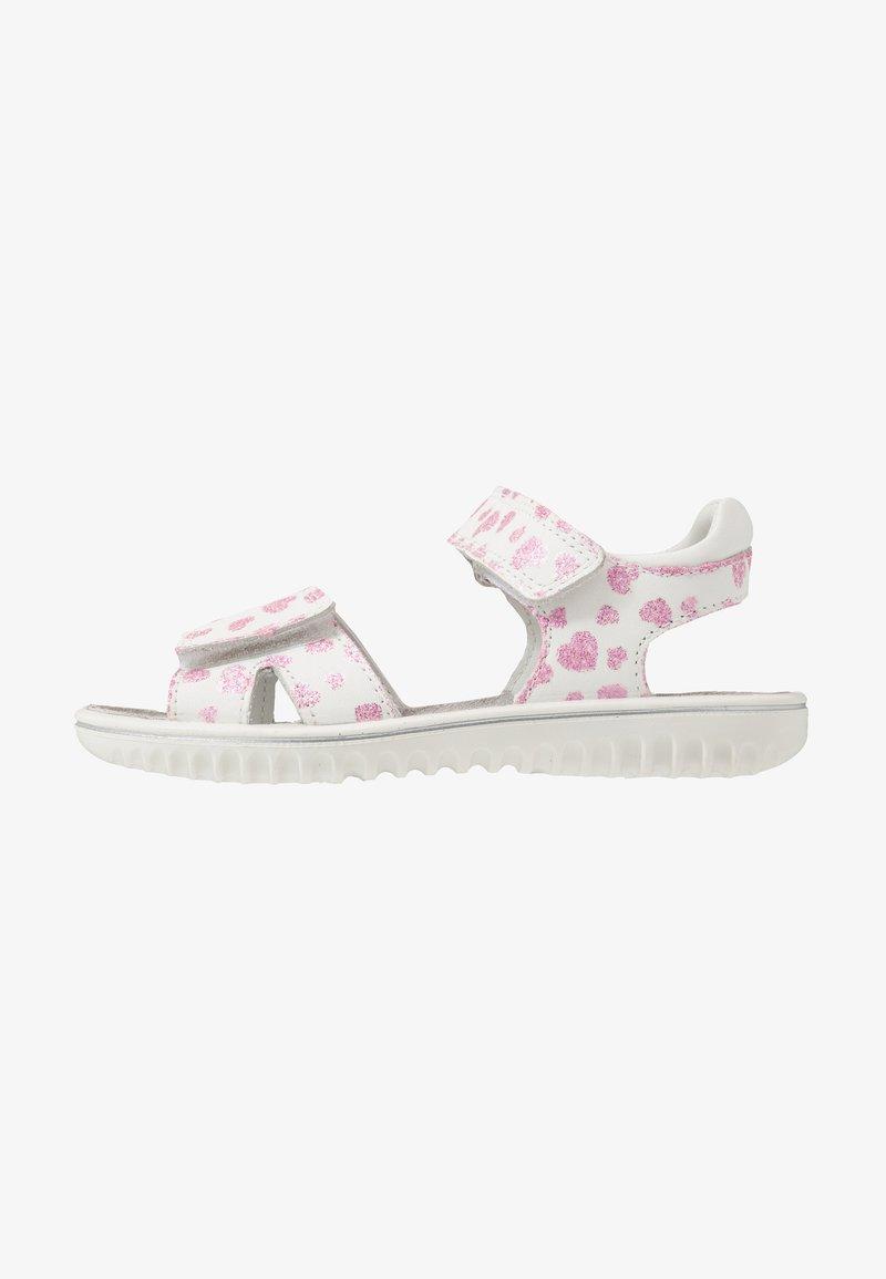 Superfit - SPARKLE - Sandals - weiß