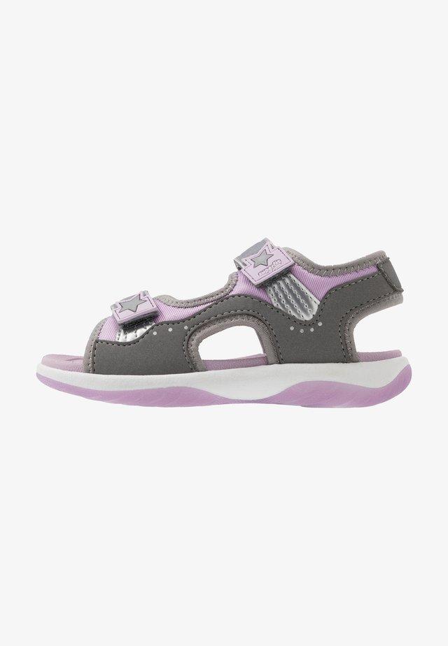 SUNNY - Sandals - grau