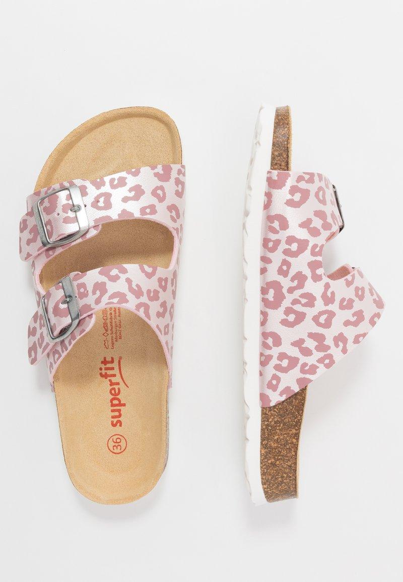 Superfit - FUSSBETTPANTOFFEL - Chaussons - pink