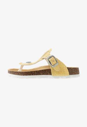 Sandály s odděleným palcem - gelb