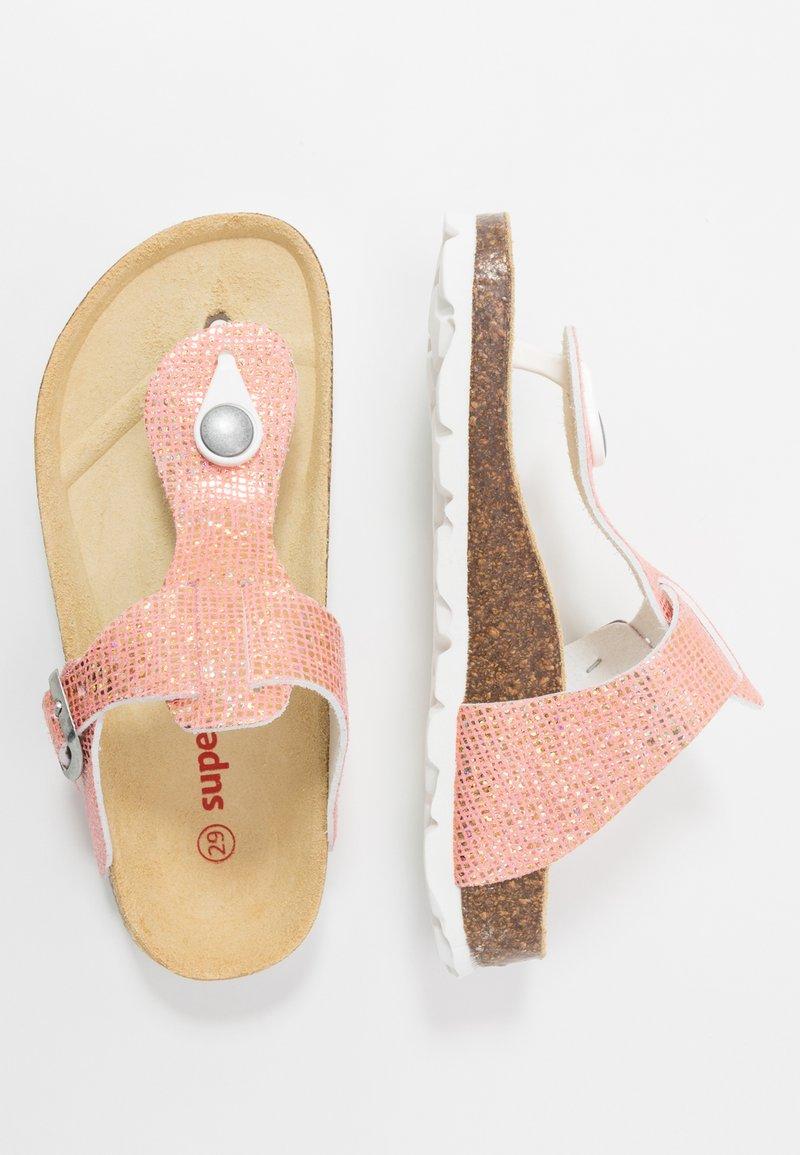 Superfit - Sandaler m/ tåsplit - rot