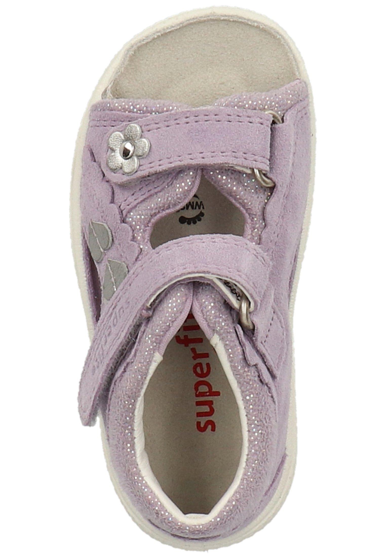 Superfit Sandały trekkingowe - purple