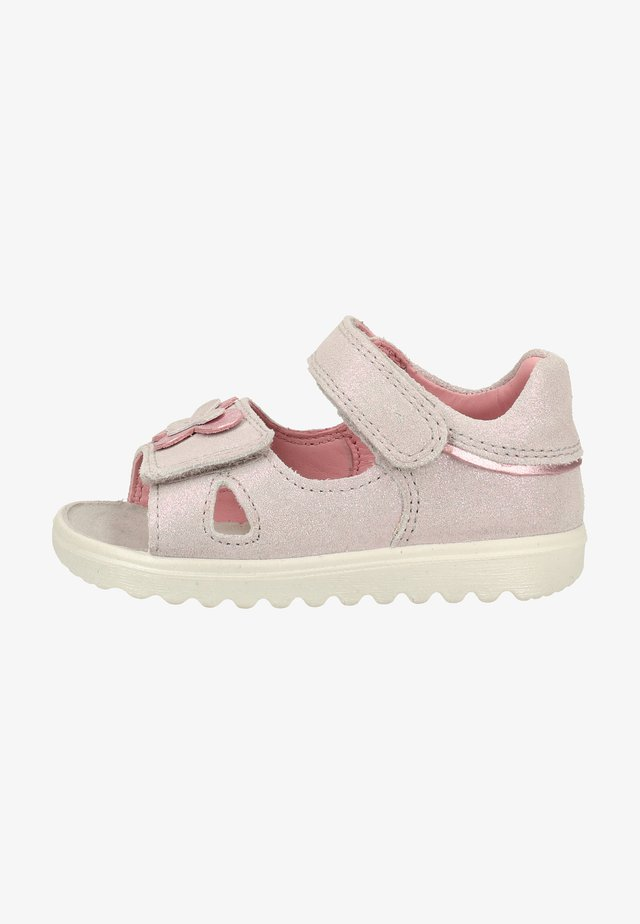 Walking sandals - light gray/pink