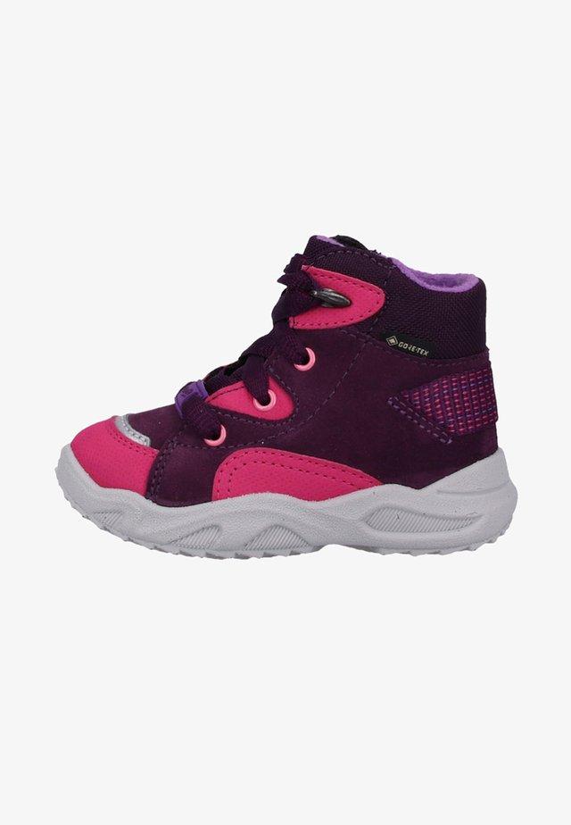 Lær-at-gå-sko - purple/pink