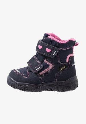 HUSKY - Dětské boty - blau/rosa