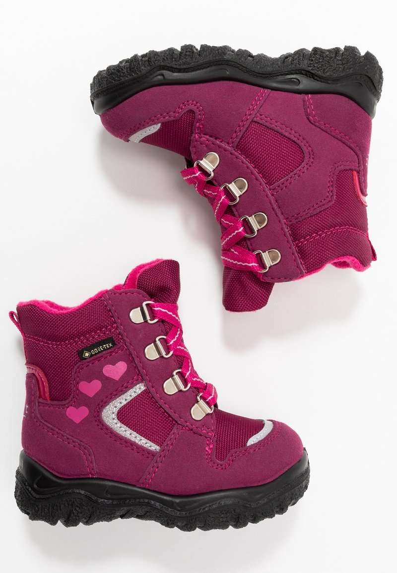 Superfit - HUSKY - Baby shoes - rot/rosa
