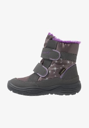 CRYSTAL - Winter boots - grau/lila