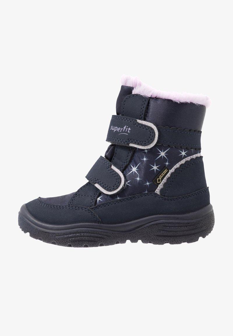 Superfit - CRYSTAL - Winter boots - blau/lila