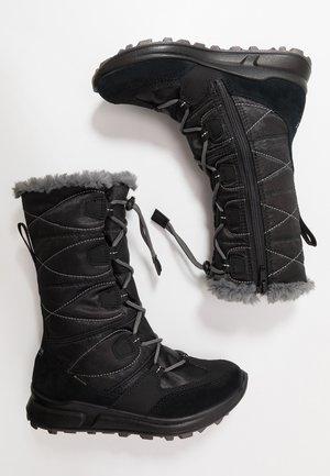 MERIDA  - Bottes de neige - schwarz