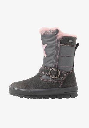 FLAVIA - Snowboot/Winterstiefel - grau/rosa