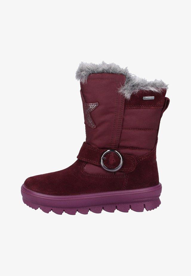 FLAVIA - Snowboot/Winterstiefel - red