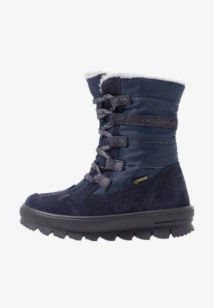 FLAVIA - Bottes de neige - blau