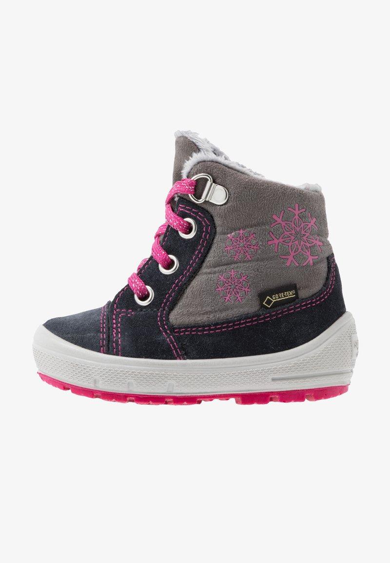 Superfit - GROOVY - Baby shoes - grau