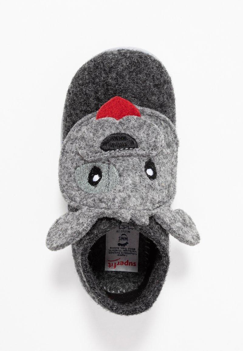 Superfit - HAPPY - Pantofole - schwarz