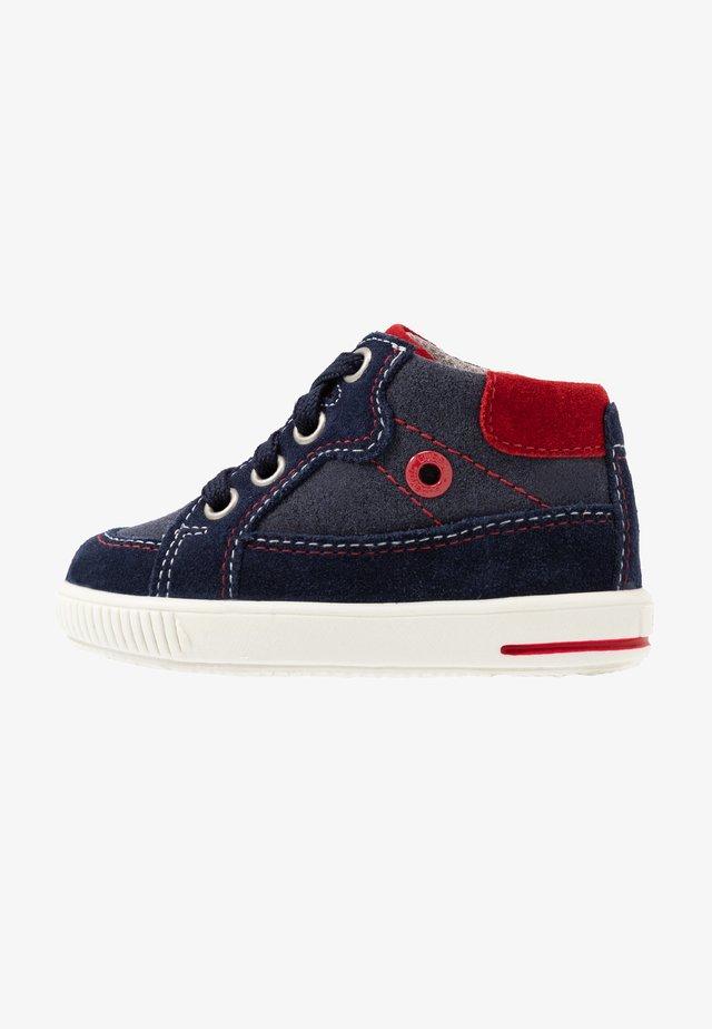 MOPPY - Baby shoes - blau