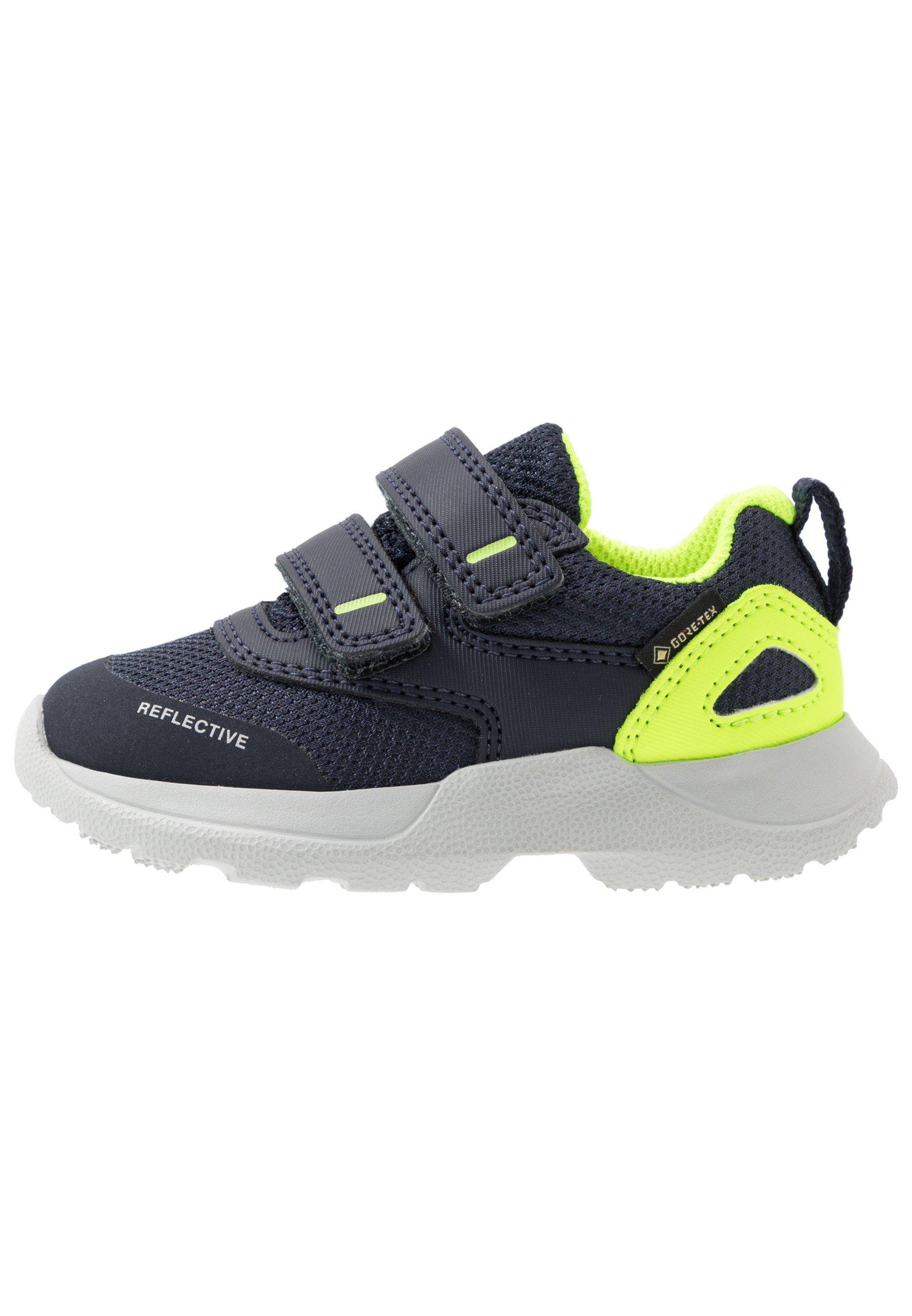 RUSH Sneakers laag blaugelb